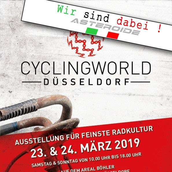 Cyclingworld 23. – 24.03.2019 in Düsseldorf